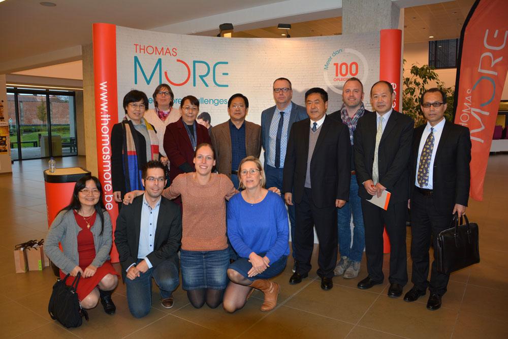 Chinese delegatie maakt kennis met Vlaamse zorginnovaties